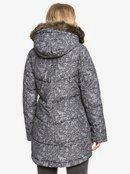 Ellie Printed - Waterproof Longline Puffer Jacket for Women  ERJJK03401