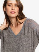 You Gotta Be - Long Sleeve V-Neck Top for Women  ERJKT03560