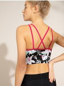 Welcome To Accapulco - Medium Support Sports Bra for Women  ERJKT03619