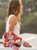Spring Muse - Rib Knit Mock Neck Top for Women  ERJKT03763