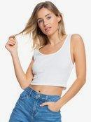 Spring Getaway - Rib Knit Vest Top for Women  ERJKT03764