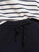 Great Past - Wide Leg Cropped Linen Trousers  ERJNP03269