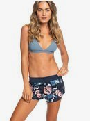 Island In The Sun - Reversible Workout Shorts for Women  ERJNS03190