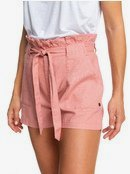 Chic And Elegance - Linen Shorts for Women  ERJNS03225
