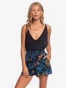 The South Side - High Waist Paper Bag Shorts  ERJNS03251