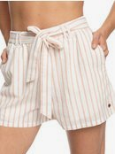 Steal The Sun - High Waist Linen Shorts for Women  ERJNS03252