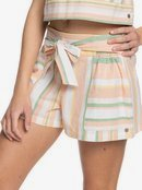 Past Midnight - Paper Bag Shorts for Women  ERJNS03338