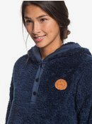 Sky Of Stars - Faux Fur Hoodie for Women  ERJPF03043