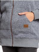 Moon Change - Hooded Zip-Up Fleece for Women  ERJPF03046