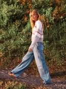 Blurred Memories - Cropped Jumper for Women  ERJSW03443