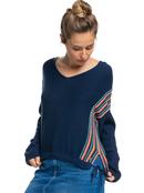 Beach Nostalgia Stripe - Poncho Hoodie for Women  ERJSW03488