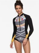 1mm POP Surf - Long Sleeve Cheeky Cut Front Zip Springsuit for Women ERJW403017