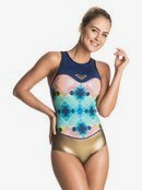 Pop Surf 1mm - Back Zip One Piece Swimsuit  ERJW603009