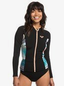 1mm POP Surf - Long Sleeve Front Zip Wetsuit Top for Women  ERJW803018