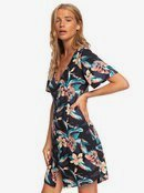 Damage Love - Short Sleeve Buttoned Dress for Women  ERJWD03415