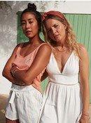 New Silver Light - Strappy Dress for Women  ERJWD03462