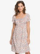 Strawberry Swing - Short Sleeve Midi Dress for Women  ERJWD03483