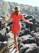 All Eyes On Love - Dress for Women  ERJWD03590
