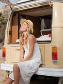 Waiting Line - Midi Dress for Women  ERJWD03610