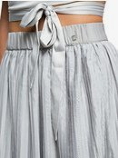 H and K To The Sun - Pleated Midi Skirt for Women  ERJWK03046