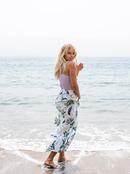Summer Fade - Ankle Length Skirt for Women  ERJWK03103