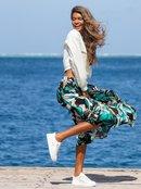 Sense Of Escape - Ankle Grazer Skirt for Women  ERJWK03112