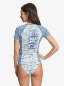 Dream Sea C/L Swim - Short Sleeve UPF 50 Rash Vest for Women  ERJWR03208