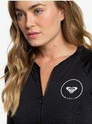 Essentials - Long Sleeve Zip-Up UPF 50 Rash Vest for Women ERJWR03218