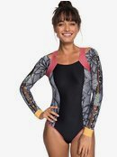 POP Surf - Long Sleeve UPF 50 Zipped One-Piece Rashguard for Women  ERJWR03250