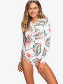 ROXY - Long Sleeve UPF 50 One-Piece Swimsuit for Women ERJWR03291