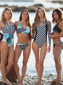 POP Surf - Long Sleeve UPF 50 One-Piece Swimsuit for Women  ERJWR03292
