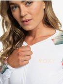Dreaming Day - Long Sleeve UPF 50 Front Zip Rash Vest for Women  ERJWR03297