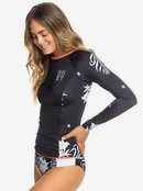 ROXY Fitness - Long Sleeve UPF 50 Rash Vest for Women  ERJWR03320