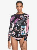 POP Surf - Long Sleeve UPF 50 One-Piece Rashguard for Women  ERJWR03416