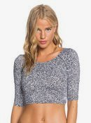 POP Surf - Cropped 3/4 Sleeve UPF 50 Rash Vest for Women  ERJWR03418