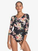 Garden Surf - Long Sleeve One-Piece Swimsuit for Women  ERJWR03435