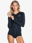 Essentials - Long Sleeve UPF 50 Zipped Rash Vest for Women  ERJWR03482