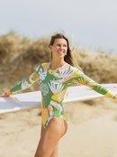 Wild Flowers - Long Sleeve UPF 50 One-Piece Swimsuit for Women  ERJWR03511