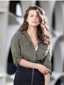 Military Influence - Long Sleeve Shirt for Women ERJWT03241