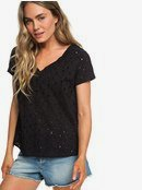 Union Square Flower - Short Sleeve Top for Women  ERJWT03290