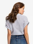 Full Time Dream - Short Sleeve Tie-Front Shirt for Women  ERJWT03385