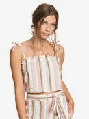 Palm Life - Strappy Crop Top for Women  ERJWT03429