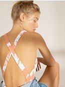 Printed Beach Classics - One-Piece Swimsuit for Women  ERJX103224