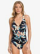 Printed Beach Classics - One-Piece Swimsuit for Women  ERJX103224