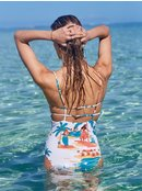 Printed Beach Classics - One-Piece Swimsuit for Women  ERJX103225