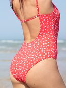 Printed Beach Classics - One-Piece Swimsuit for Women  ERJX103266
