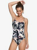 Printed Beach Classics - One-Piece Swimsuit for Women  ERJX103326