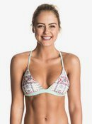 Sunset Bay Reversible Fixed Tri - Bikini Top ERJX303234