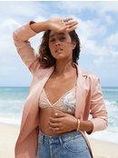 H And K - Athletic Triangle Bikini Top for Women ERJX303768