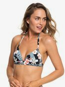 Beach Classics - Moulded Triangle Bikini Top for Women  ERJX303838